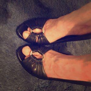 Jessica Simpson peep toe pumps Like new